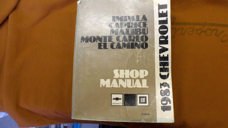 Ss Doc Shop Manual